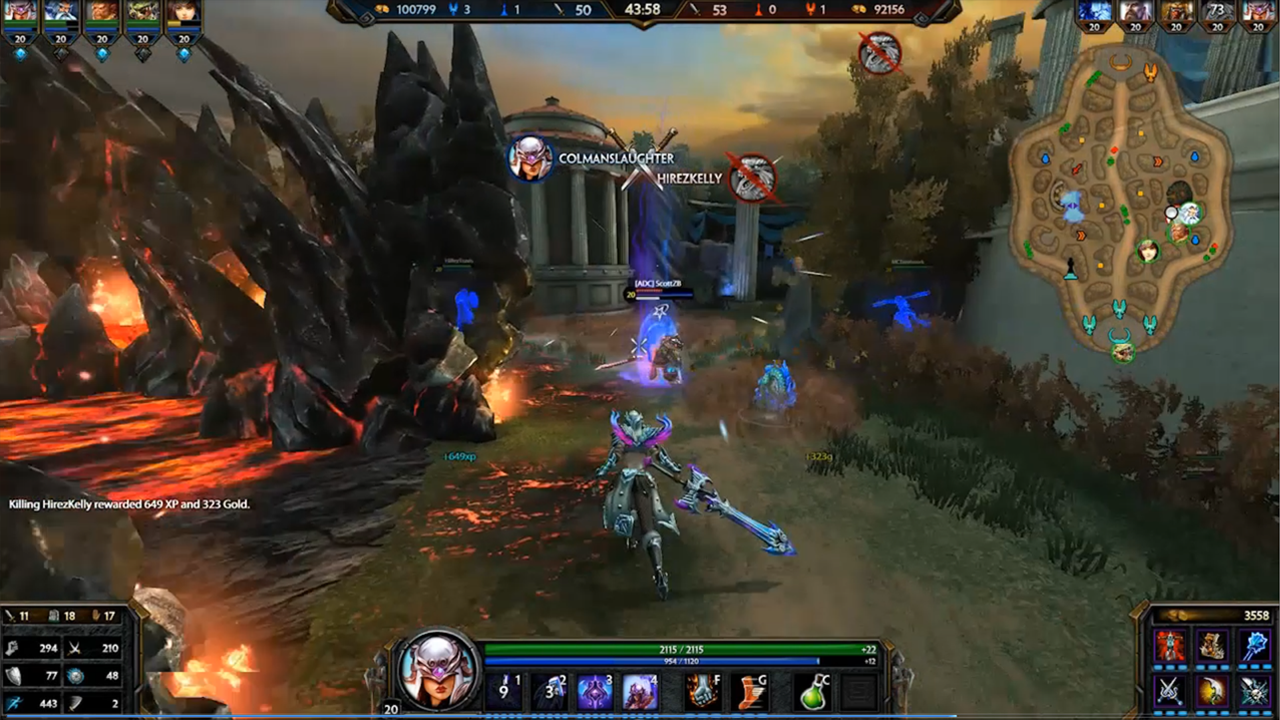 SMITE - Nemesis Screenshot 1